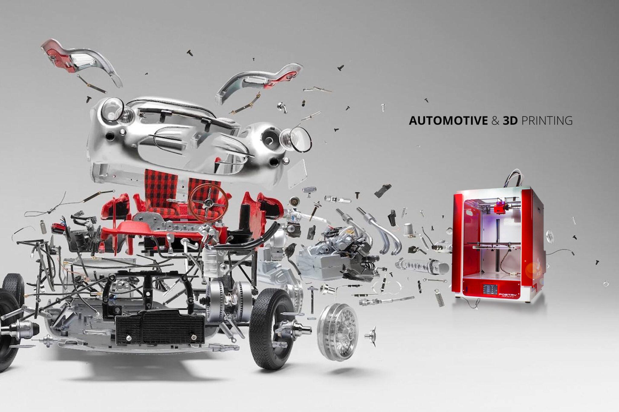 Settore Automobilistico e Stampa 3D